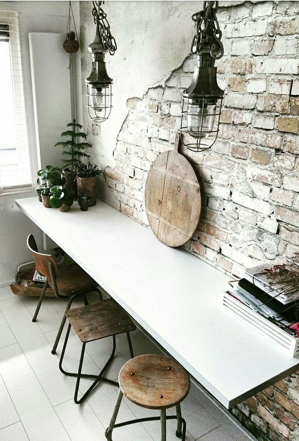 45 Outstanding Home Industrial Concept Design Ideas With Brick Wall To Try 45 Outstanding Home Industrial Concept Design Ideas With Brick Wall To Try  Industrial interior