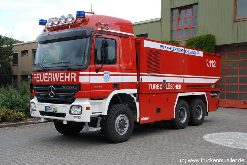Turbolöscher - Werksfeuerwehr Chempark Dormagen (c) Truckenmüller