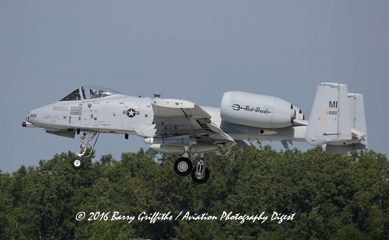 Fairchild A 10c Thunderbolt Ii Usaf S N 79 0170 Mi Ang 107th Fs