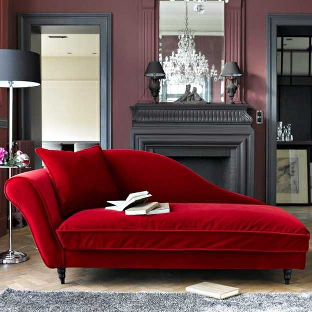 Pictures Of Chaise Lounge Chairs Red Christmas Chair Covers Modern Recamier For Chic Room Decor In Classic French Style