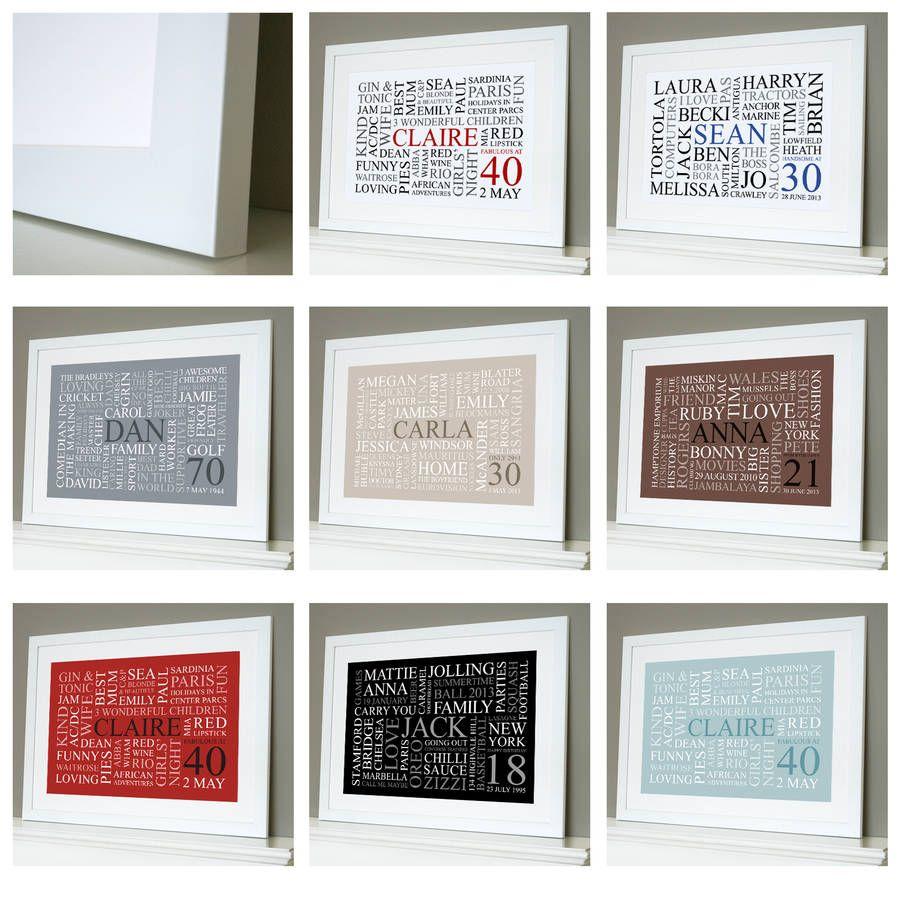 words frames