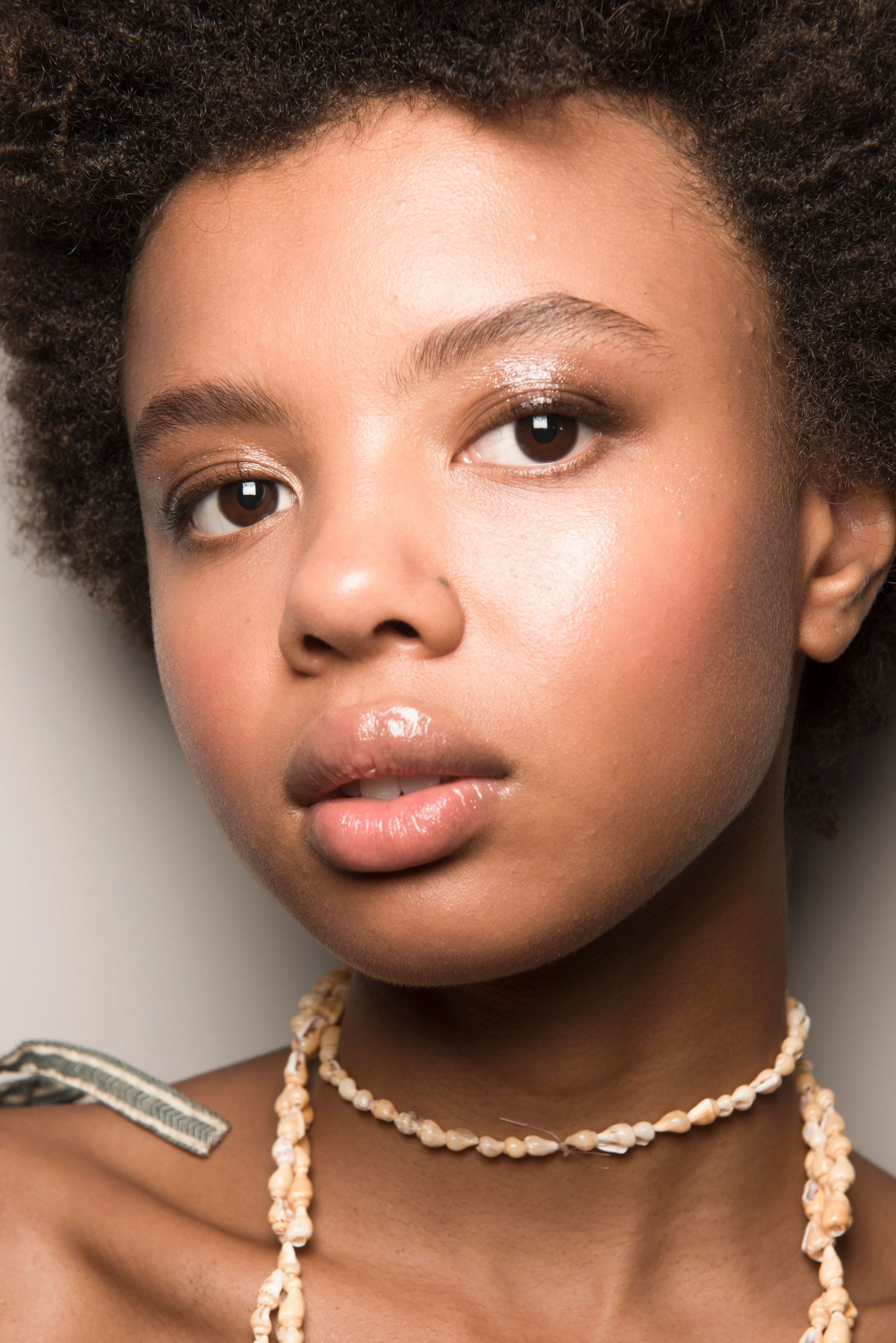 Pin by Oshane Howard on Makeup | Glossy makeup