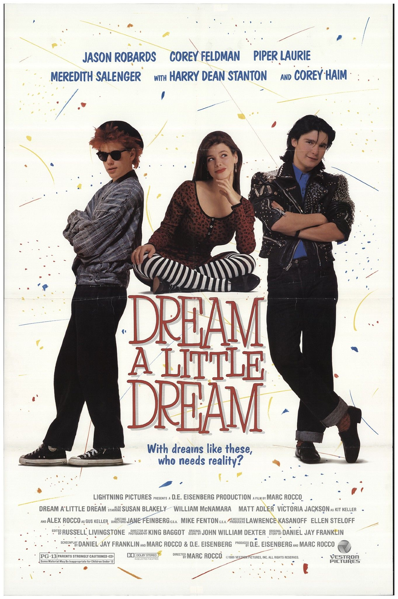DREAM A LITTLE DREAM 1989 MOVIE POSTERS Pinterest