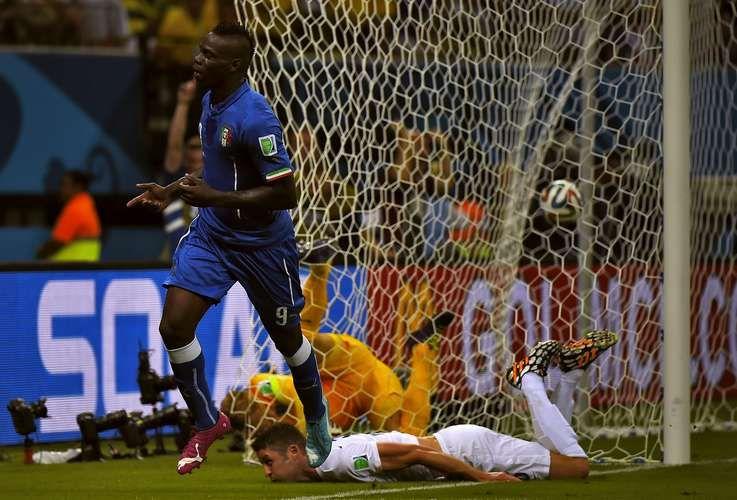 14/06: Inglaterra 1 x Itália 2