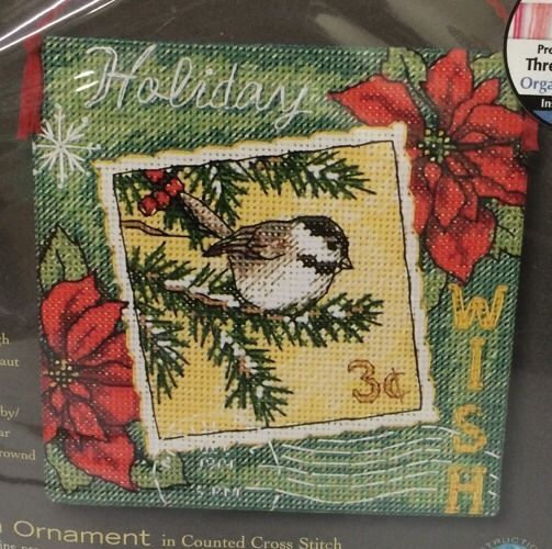 Stamped Bird Dimensions Counted Cross Stitch Kits for Beginners Embroidery Craft