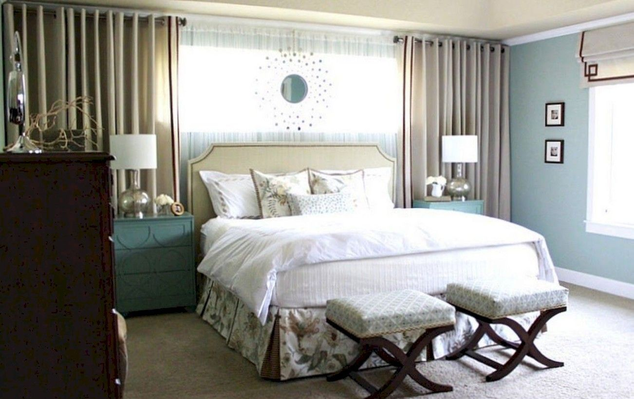Master bedroom decor 2018  nice  Adorable Small Master Bedroom Decoration Ideas about
