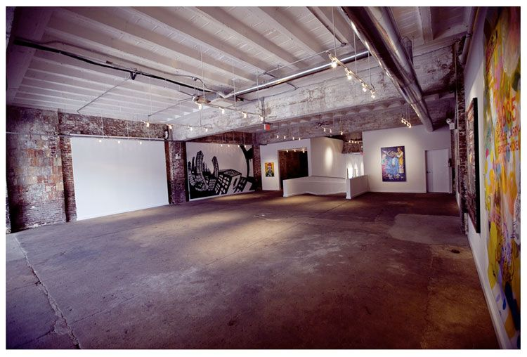 convert a gallery into a studio apartment
