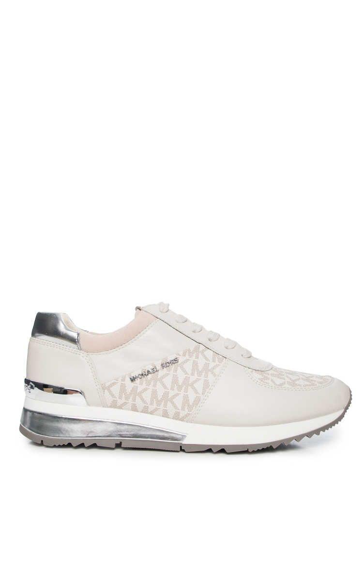 575b260021a6 Sneakers Allie Wrap Trainer VANILLA SILVER - Michael - Michael Kors -  Designers - Raglady
