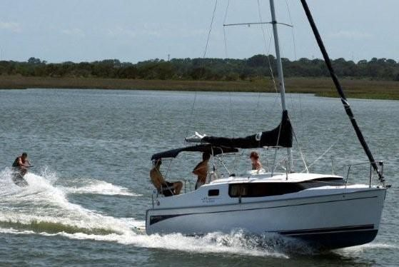 Hunter 27 The Edge sailboat for sale   boats   Sailboats for