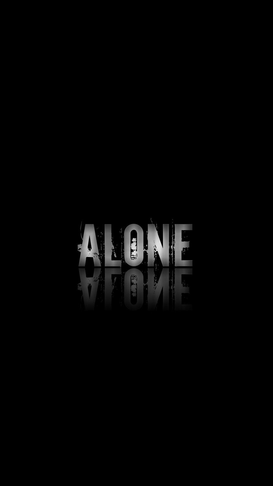 Pin On Alone