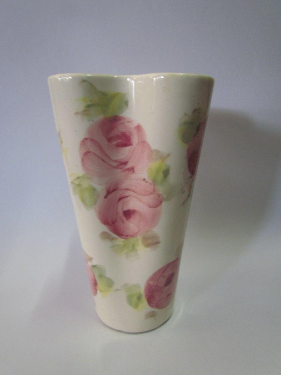Vaso De Porcelana Weiss - R$ 100,00 no MercadoLivre