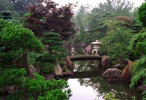 Jardines japoneses japon Pinterest