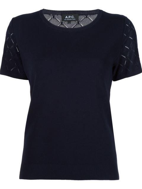 A.P.C. Knitted T-Shirt. #a.p.c. #cloth #t-shirt