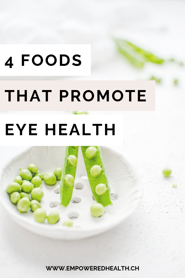 4 Foods That Promote Eye Health Empowered Health Geneva Switzerland Eye Health Food Health