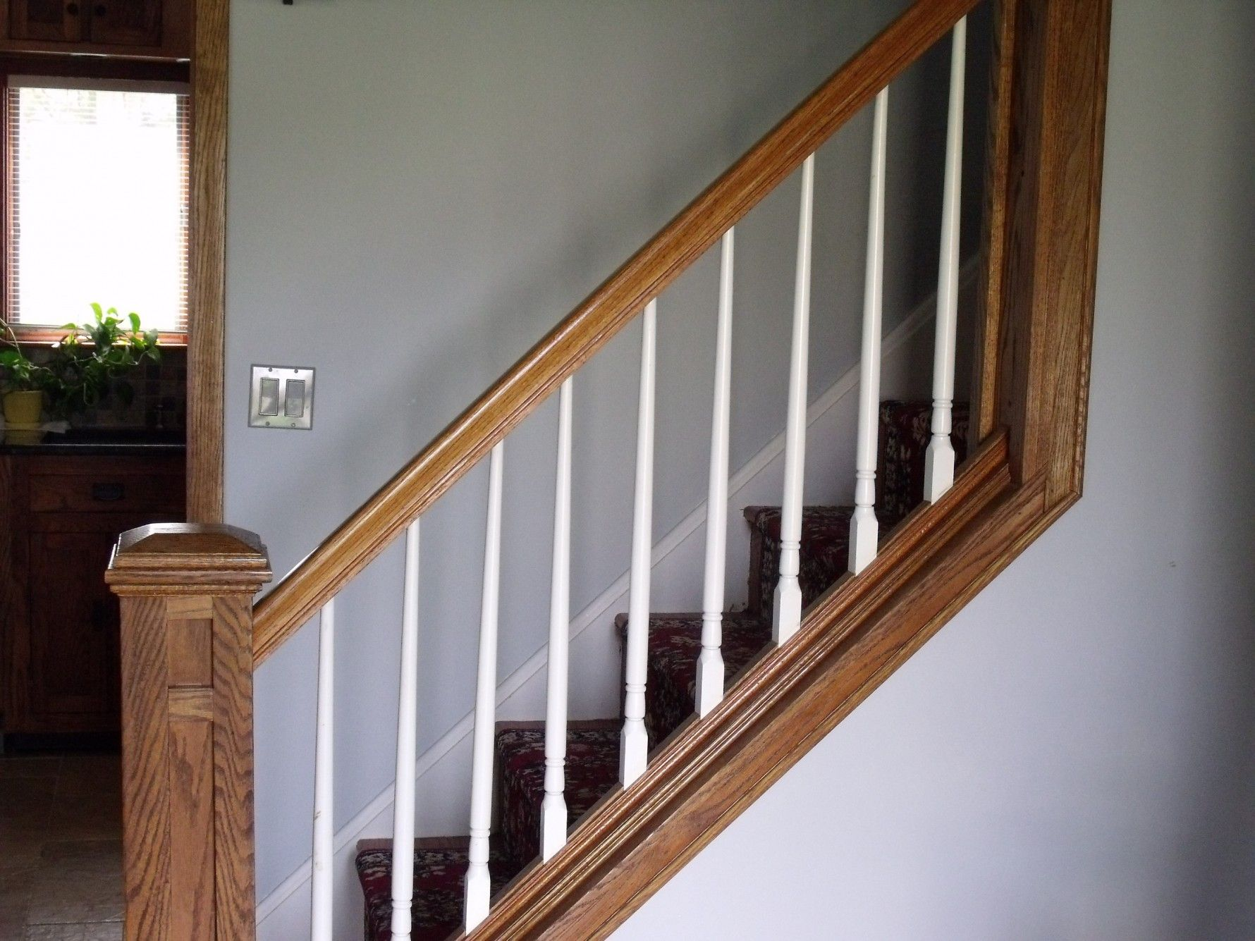 Best Hardwood Steps White Spindles For More Information On Or 640 x 480