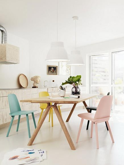 Interieur Ideeen Eetkamer.Eetkamer Ideeen Interiors Pastel Interior Home Decor En Dining