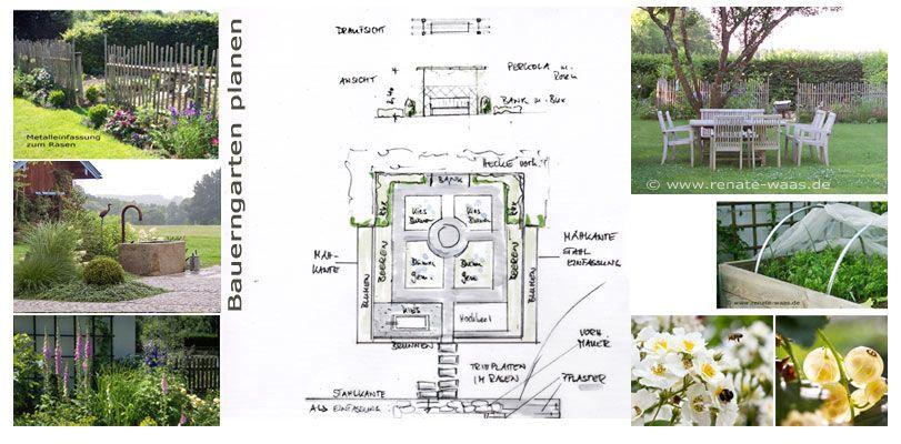 bauerngarten planen und gestalten skizzen ideen und bilder sammeln garden pinterest gardens. Black Bedroom Furniture Sets. Home Design Ideas
