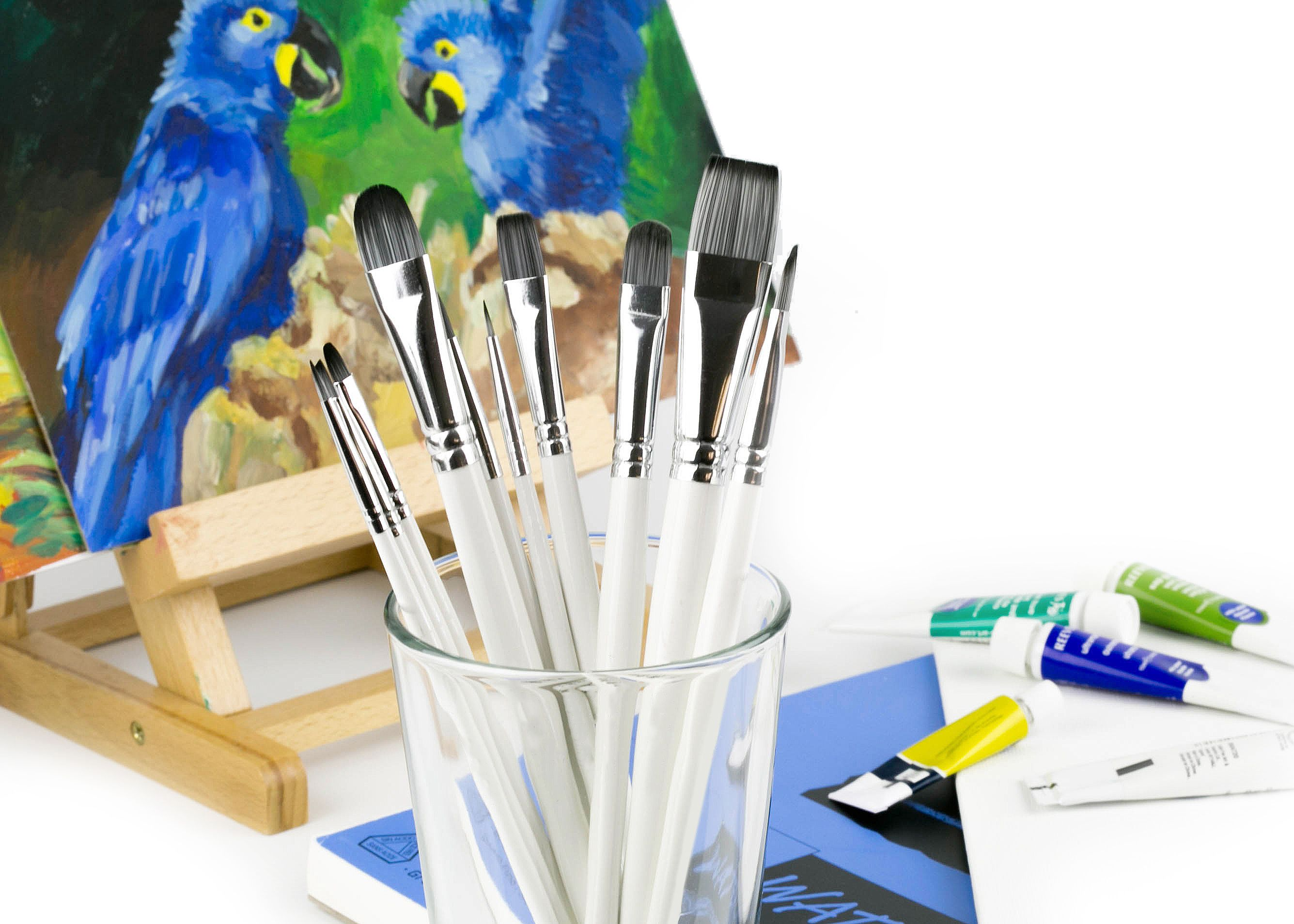 As soon as you hold any of our brushes you will see why