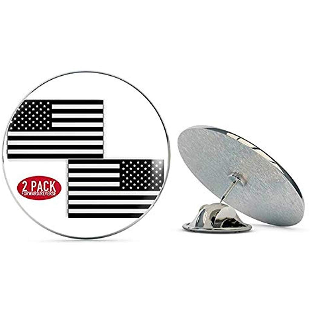 """*U S Army with American Flag over Army Seal/"""" Lapel,Hat pin,Tie Tack"""