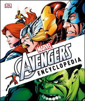 Marvel the Avengers Encyclopedia   Art N' Heroes   Marvel