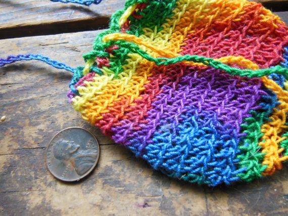 Extra Long Raionbow Cotton Crotchet Festival by notchroadfairies