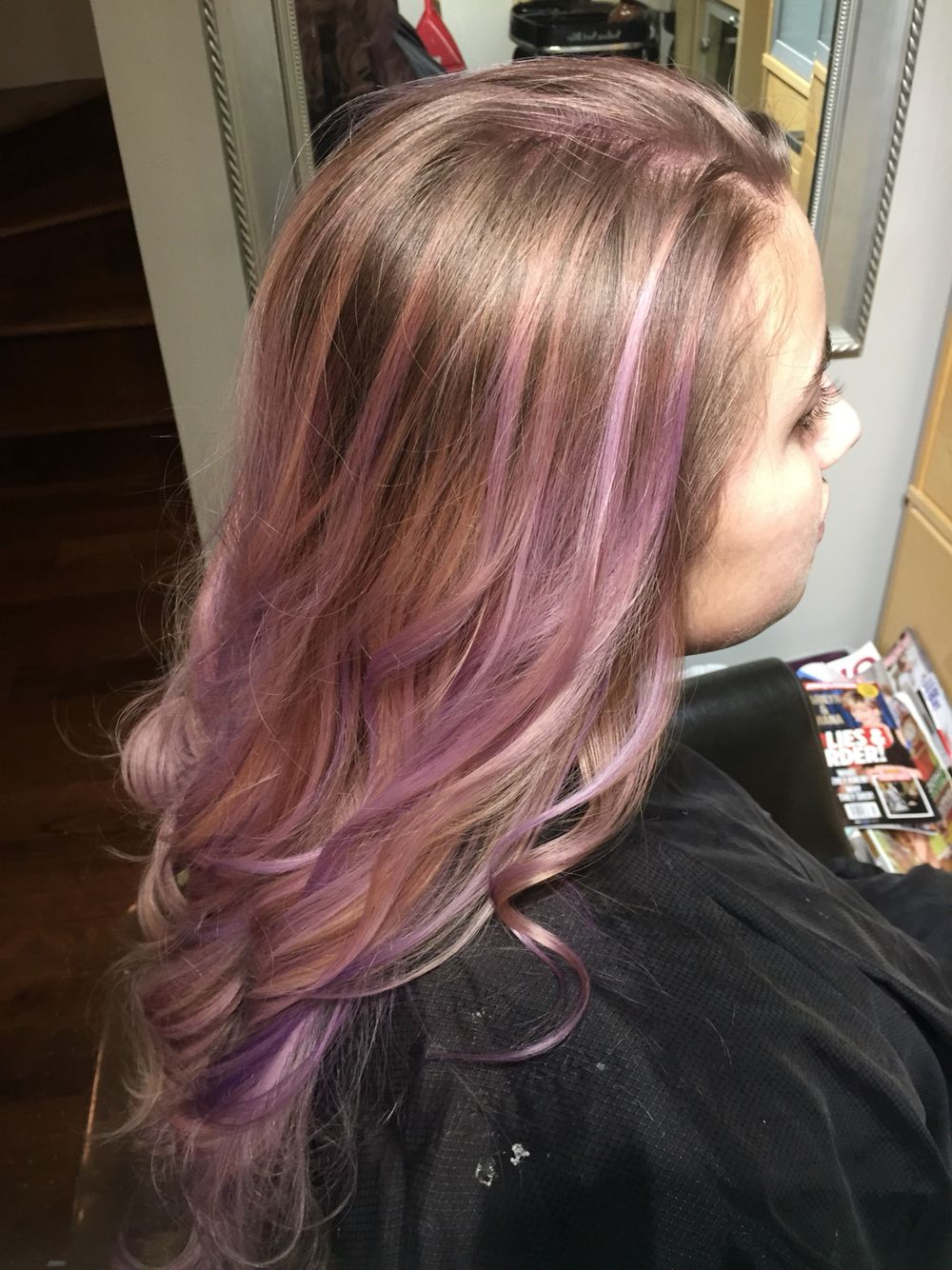 Pretty Tumblr Balayage Ombr Hair Lilac Lavender Purple Its A
