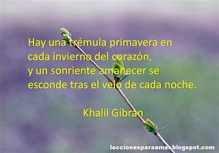 Frase Celebre De Esperanza De Khalil Gibran Frases Celebres