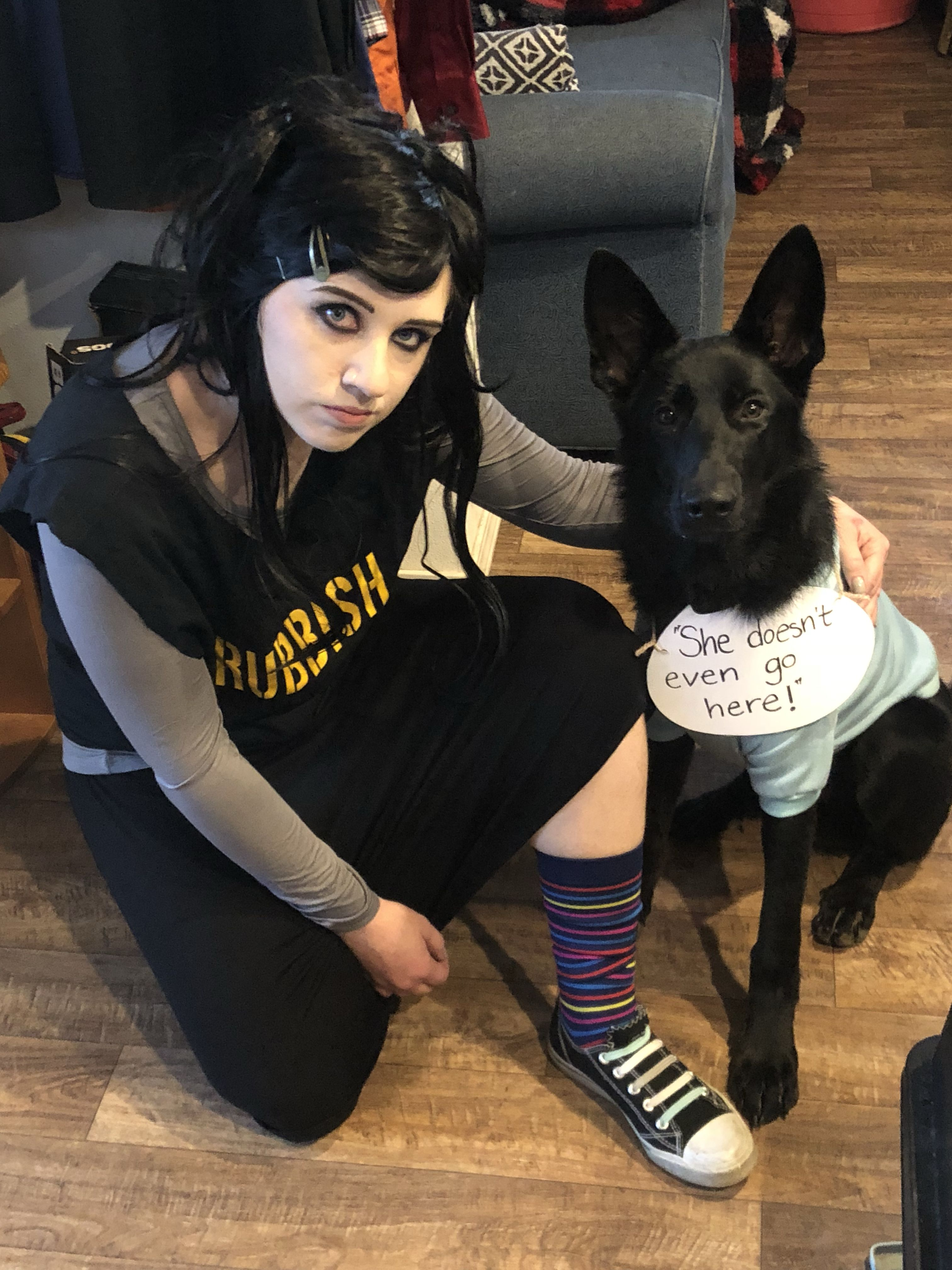 Janis Ian And Damien From Mean Girls Dog And Owner Costume I Got