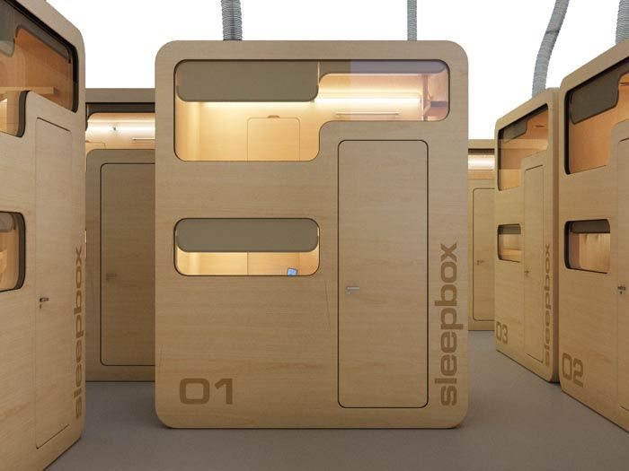 SLEEPBOX - the hotel of the future by arch-group.org - via http://bit.ly/epinner