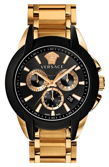 Invisibly set. The Rolex is faceless. Versace  Character Chrono  Bracelet  Watch 8e4a3e6e7b0