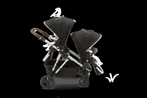 28+ Mockingbird single to double stroller ideas