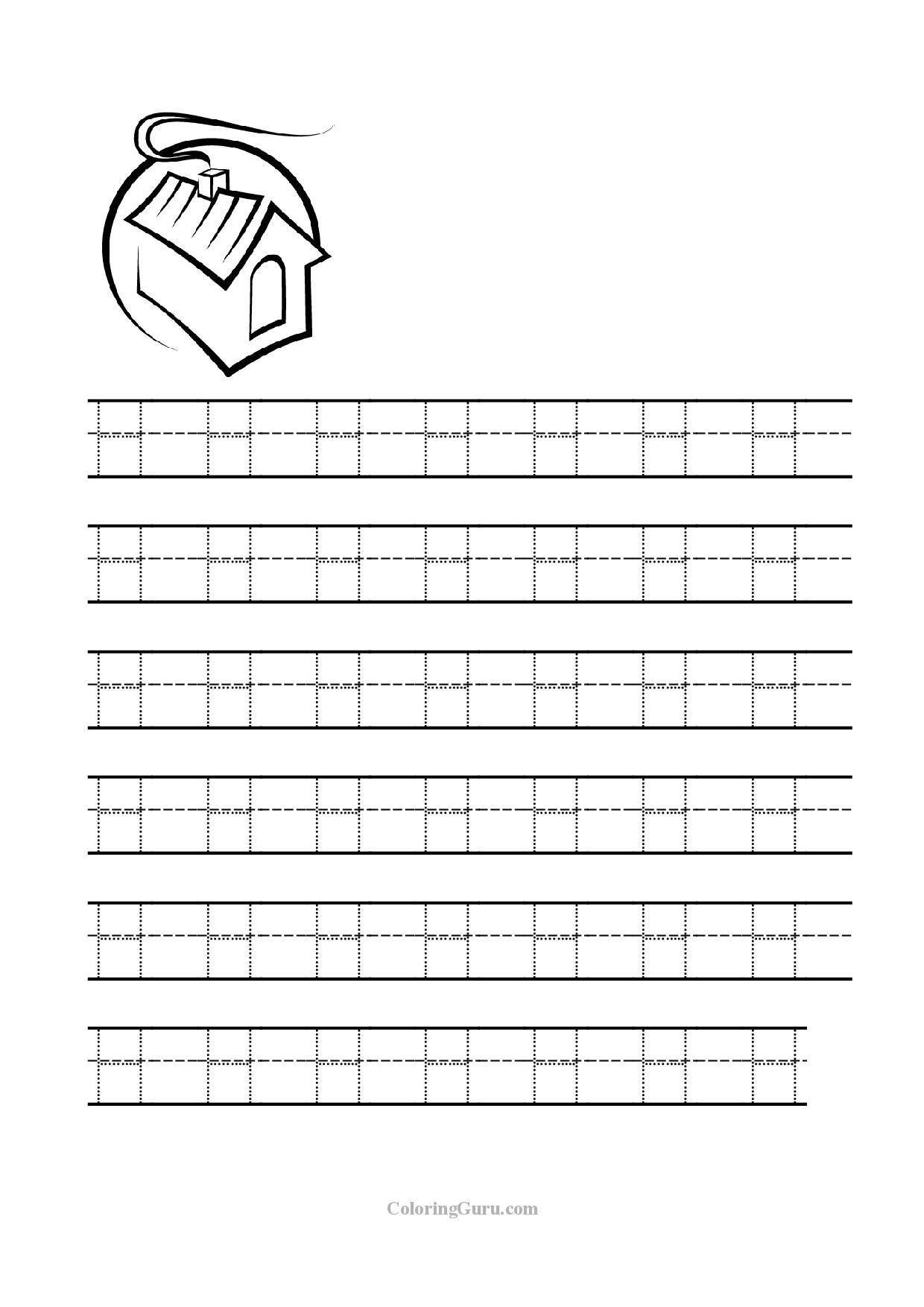 Letter H Worksheets For Preschool Letter H Tracing Worksheets Worksheets For All In 2020 Letter H Worksheets Tracing Worksheets Alphabet Worksheets Preschool