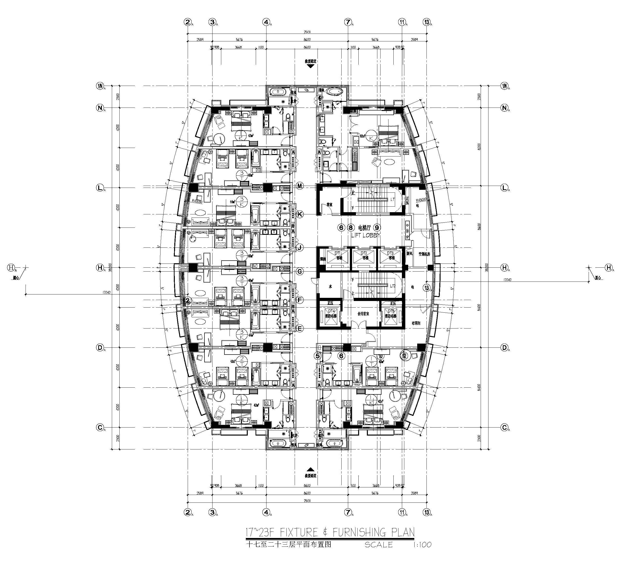 Pullman Rongjin Hotel Hotel Floor Plan Architectural Floor Plans Residential Architecture Plan