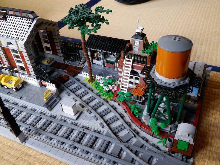 Type 3 Lego Train station Moc