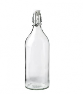 Backyard Wedding Items You Can Find At Ikea Rustic Wedding Chic Glass Bottle With Stopper Glass Bottles Bottle