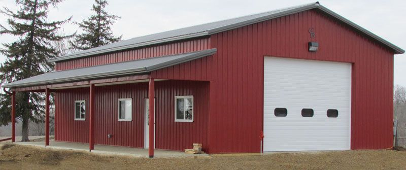 Lance D 32 X48 X14 Marion Ia Gb 1819 Pole Barn Homes Pole Barn House Plans Metal Building Homes