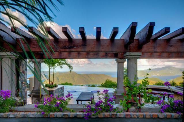 St. John Villas   Island Stones   Stone pool deck, Luxury ...