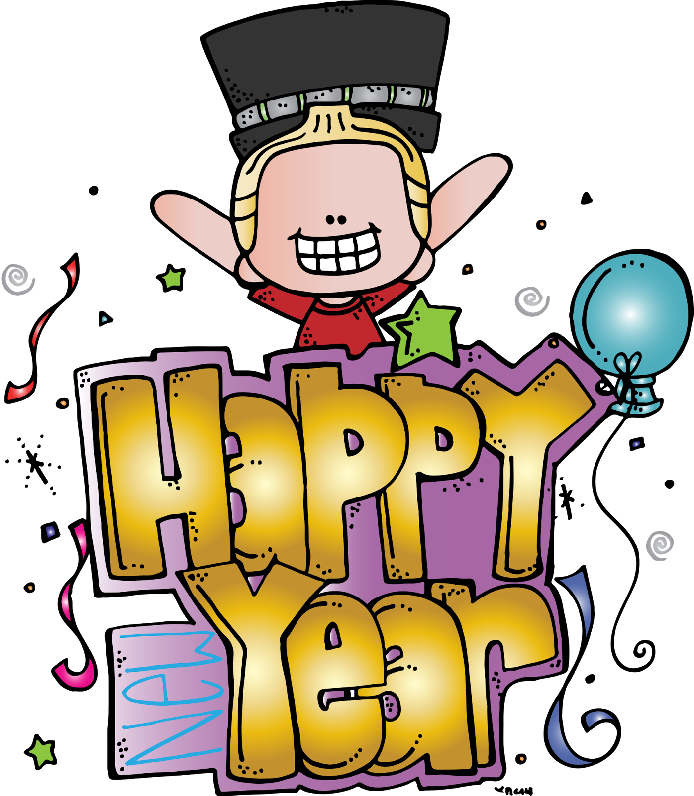 melonheadz happy new year freebie clip art new year clipart melonheadz melonheadz happy new year freebie