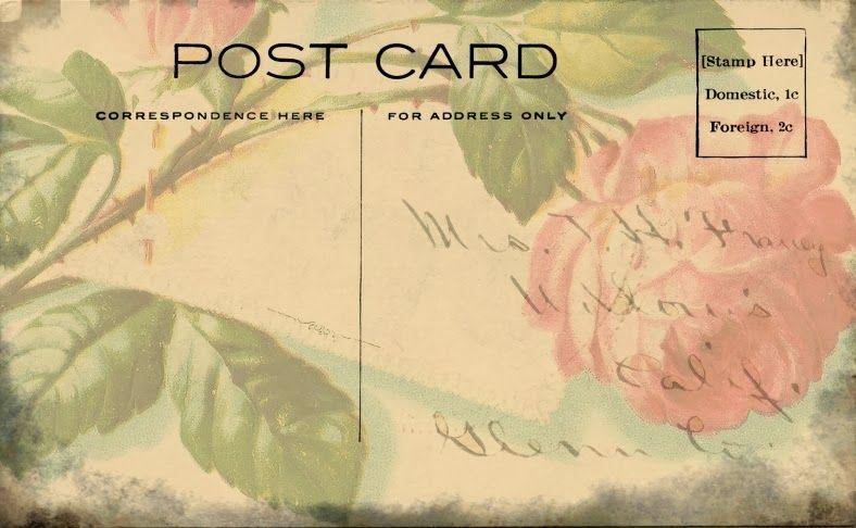 Dulcemente desguazado: Tarjetas Postales