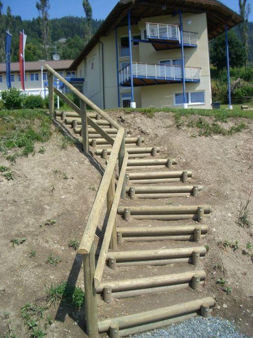 Holz Im Garten Projektgalerie Riegler Holzindustrie Gmbh Escadas Do Jardim Escada Para Jardim Varandas Rusticas