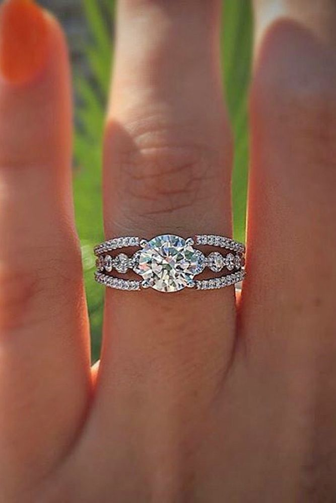 Most Popular Engagement Rings For Women ❤ See More: Http://www.