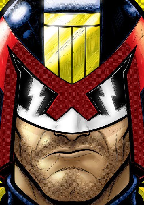 Judge Dredd  Created by Terry Huddleston