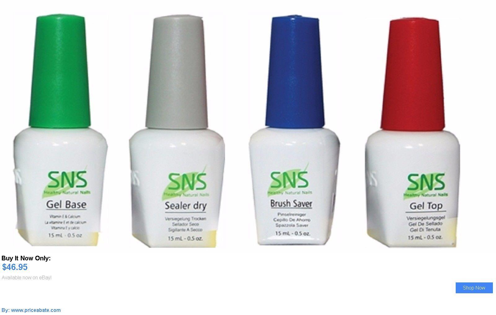 Nails: Sns Nail Dipping Powder Prep Brush Saver,French Base/Top Coat ...