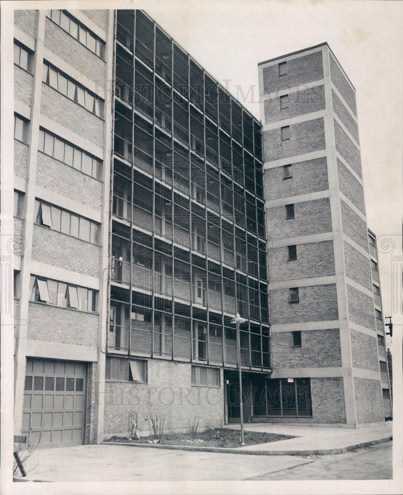 1952 Chicago Il Prairie Ave Courts Apts Press Photo Chicago Architecture Chicago History Chicago