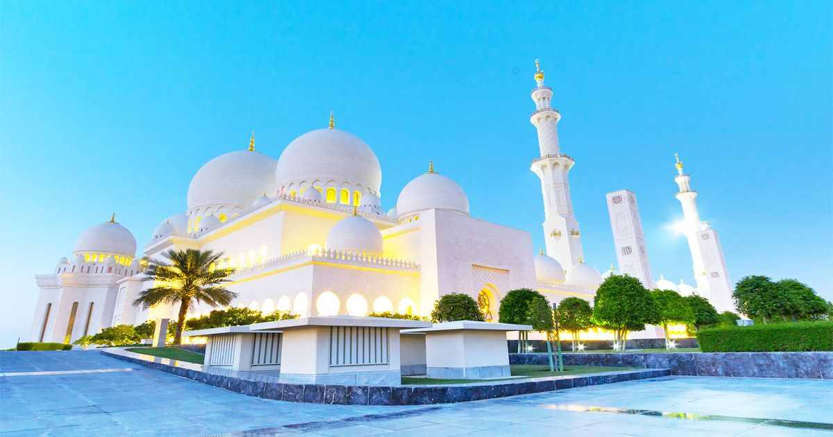 Ab Dubai Halbtagestour Zur Scheich Zayid Moschee Moschee Dubai