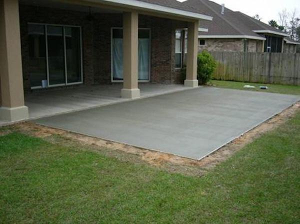 19+ Backyard cement patio ideas information