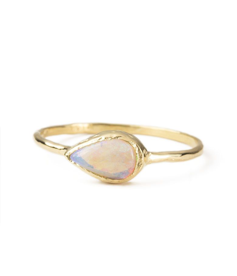 Compass Ring Audry Rose 14K Yellow gold or 14K rose gold BODY
