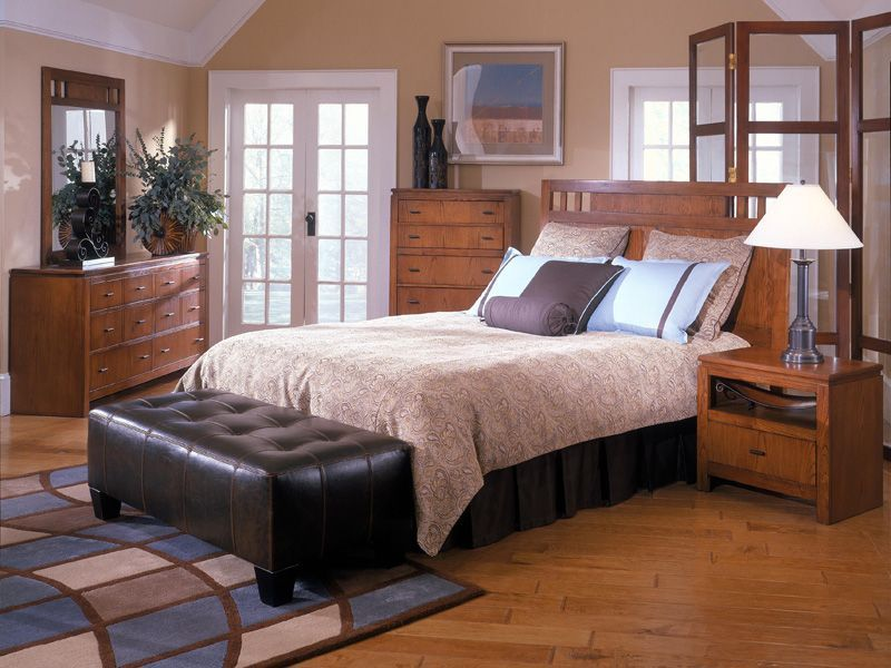 As a bedroom set that lends light and subtle color to a - Used queen bedroom sets for sale ...