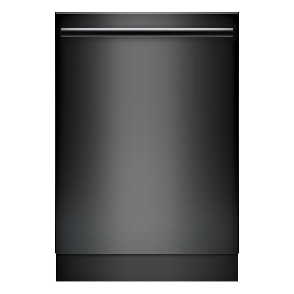 Bosch 100 Series Top Control Tall Tub Dishwasher In Black With