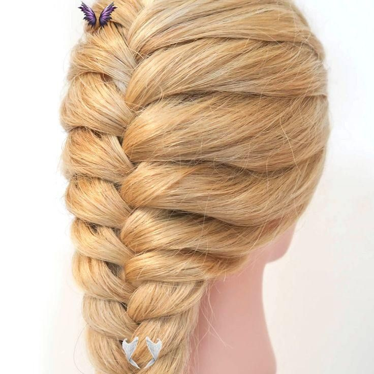 Fake French Braid How To Fake French Braid Step By Step For Beginners Click Here For A Full Step By Step Tutorial Video Credit Everydayhairinspiration I 2020